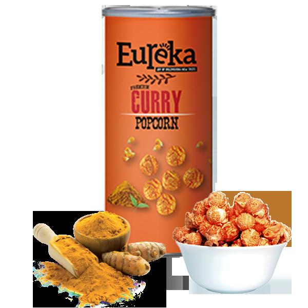 Curry Popcorn – Eureka Snack